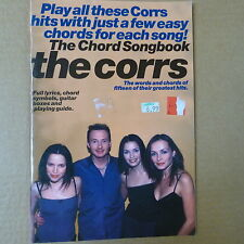 chord songbook THE CORRS
