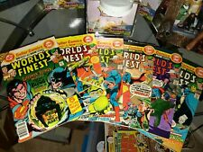 DC Comics World's Finest Comics 244-249 Bronze Age