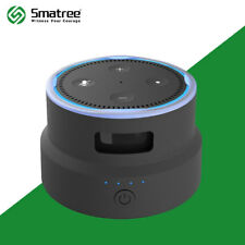 Smatree Portable Battery Base/Protective Cover for 2nd Generation Echo Dot