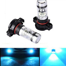 5202 H16 LED Fog Lights For 2011-2016 GMC Sierra 1500 2500 3500 100W 8000K Bulbs