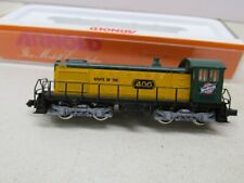ARNOLD~CNW~ 5-2~POWERED LOCOMOTIVE~ #400 ~ N SCALE