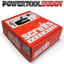 "Scruffs Work Trousers Box Set With Knee Pads & Gloves 32"" Regular B3"