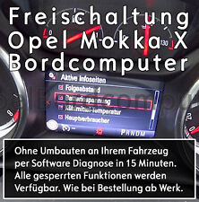 Freischaltung Bordcomputer OPEL Mokka X Boardcomputer Aktivierung