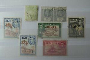 GB Stamps - Fiji - Small Collection - E2