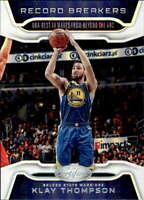 2019-20 Panini Certified Record Breakers #2 Klay Thompson Golden State Warriors