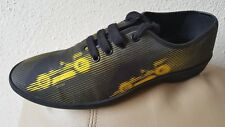 PRADA Yellow & Black Racecar Sneaker With Molded Rubber Track Sole Sz 9UK/10 US