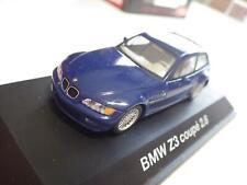 Schuco (China) Blue BMW Z3 Coupe 2.8 Diecast 1:43 NIB