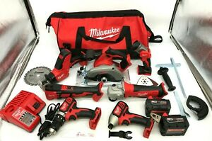 Milwaukee 2695-27S M18 Cordless Combo Tool Kit (7-Tool) LN