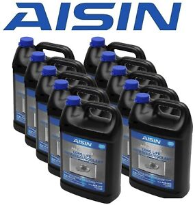 Aisin Set of 10 Engine Coolants / Antifreeze ACB-003 for Acura Honda Nissan