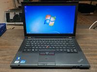 "Lenovo ThinkPad T430s 14.1"" Laptop Intel Core i7, 500GB HDD, 8GB RAM, Windows 7"