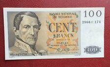 Belgique -  Magnifique  Billet de 100 Francs du  30-03-1953