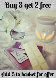 Highly Scented Soy Wax Melt Snap Bars Multi Buy Discount
