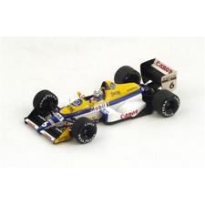 WILLIAMS FW12 R.PATRESE 1988 N.6 6th MONACO GP 1:43 Spark Model Formula 1