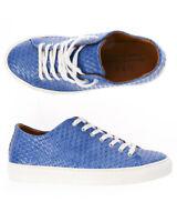 Scarpe Sneaker Daniele Alessandrini Shoes Uomo Azzurro F802KL1013800 21 Tg. 39