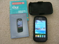 SAMSUNG GALAXY ACE STYLE Total Wireless & belt clip used works great!