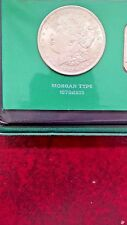 1921 MORGAN & 1922 PEACE SILVER DOLLARS-THE SILVER STORY WITH 1 OZ SILVER BAR