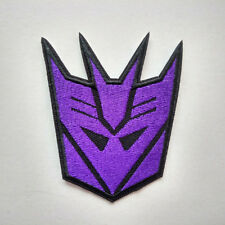 Decepticon Transformers Megatron Autobots Embroidered Iron On Patch