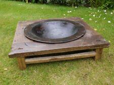 Fire Pit vintage Chinese fire pit, vintage fire pit, fire bowl steel wood