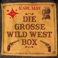 KARL MAY 'DIE GROßE WILD WEST BOX' 5 CD BOX NEW