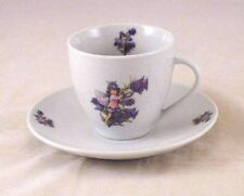 Tea / Coffee Cut w/ Saucer - Canterbury Bell Fairy - Reutter Porcelain 74.074/5