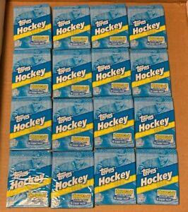 16 1992 Topps Hockey Unopened Wax Packs NHL