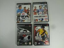 LOT OF FIFA 2005 2010 WINNING ELEVEN 6 WORLD TOUR SOCCER PLAYSTATION 2 PS2 USED
