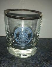 United Lodge FreeMasons Qld Grand Installtion commemorative 1977 spirits glass