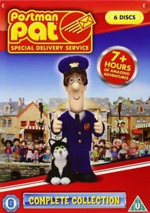 Postman Pat Special Delivery Service Complete Collection Region 2 DVD 5 Movies