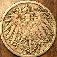 1898 GERMAN 5 PFENNIG