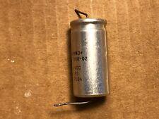 Vintage Sangamo 500 uf 50v Metal Capacitor 1975 Guitar Tube Amp Axial Cap