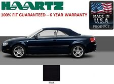 Audi A4 Convertible Soft Top With Heated Glass window in Black German A5 Canvas