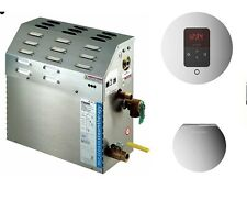 MrSteam MS-90-E Steam Bath Generator with I-Tempo Panel and Steamhead
