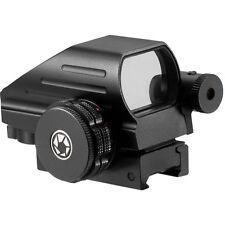 Barska Red Green Dot Reflex Sight Scope w/ Laser Fits Weaver Picatinny Rails