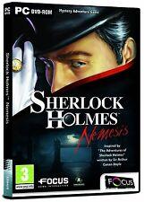 Sherlock Holmes Némésis (PC DVD) Nouveau Scellé