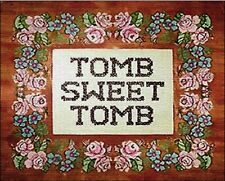 Disneyland Haunted Mansion Tomb Sweet Tomb Print Prop Replica