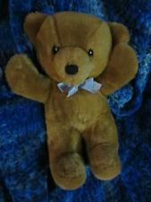 "VINTAGE 1986 Dakin Cuddles Bear 14"" TALL BLUE RIBBON"