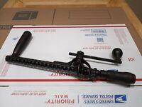 Vintage Rusby Patent Newark NJ Rare Antique Hand Crank Drill Corner Brace