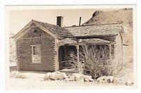 1940's RPPC RHYOLITE NV BOTTLE HOUSE VINTAGE REAL PHOTO POSTCARD NEVADA OLD !!!