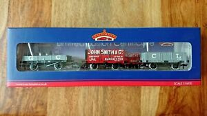 Bachmann 37-079K Plank Wagon Triple Pack Great Central CLUB EXCLUSIVE NEW