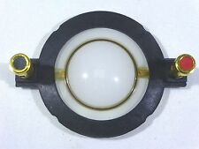 Replacement 8 ohm Diaphragm(Mylar)-34.4mm Voice Coil;Push Down Round Terminals.