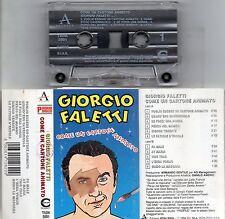 GIORGIO FALETTI musicassetta MC COME UN CARTONE ANIMATO made in ITALY 1994 POOH