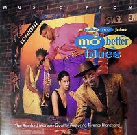 Mo' Better Blues - Original Soundtrack - Branford Marsalis - (CD 1990) VG++ 9/10
