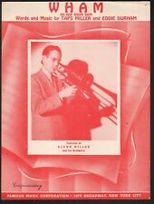 Wham (Re Bop Boom Bam) 1939 Glenn Miller Sheet Music