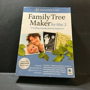 Nova Development Family Tree Maker (Mac) With Case