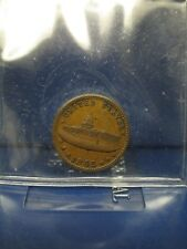 1863 Civil War Patriotic Token Army & Navy F-233/312a Ch Au 58
