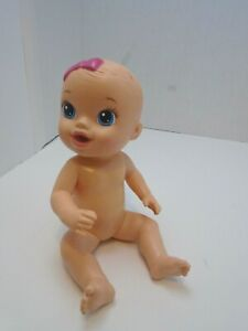 """2014  Hasbro  Baby Alive  Drink an Wet Little 11"""" Baby Girl Doll"""