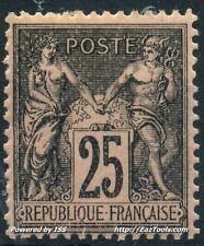 FRANCE SAGE N° 97 NEUF * AVEC CHARNIERE COTE 120€