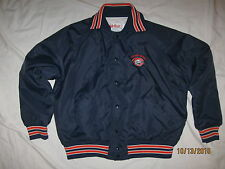 Chicago Bears Vintage Jacket Coat NFL Mens Large Fab-Knit 80s Da Bears