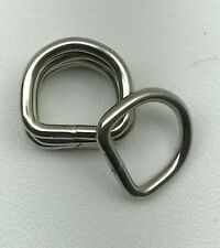 Lot Of 24- Heavy Duty 1� Nickel Plated D-Ring/ Handbags/ Dog Collar High Quality
