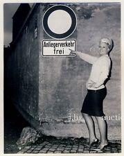 Augsbourg dans une maison close ruelle/prostitution/lapin ruelle * vintage 50s seufert photo